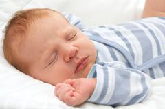Newborn baby Stock Photos
