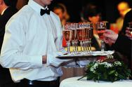 Stock Photo of coctail and banquet catering party event