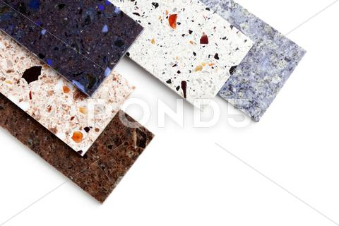 Stock photo of stone samples