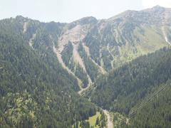 Aosta valley mountains Stock Photos
