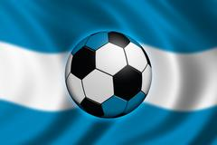 Soccer Argentiinassa Piirros