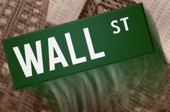 Wall street Stock Illustration