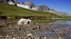 Swiss Mountainscape - stock footage