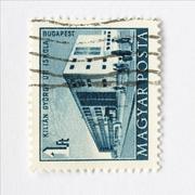 Hungary stamp Stock Photos