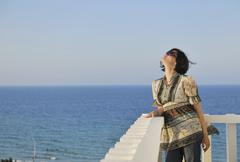 Stock Photo of woman travel fashion