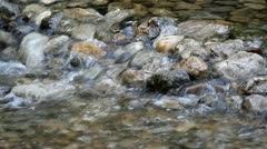 Clear fresh water stream Stock Footage