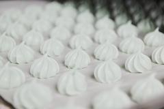 sweet cake food production - stock photo