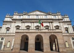 teatro alla scala, milan - stock photo