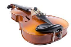violin close up - stock photo