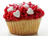 Stock Photo of Love you cupcake