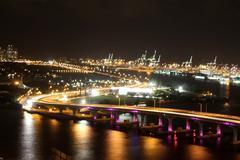 Miami Port - stock photo