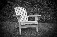Adirondack chair Stock Photos