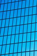 modern building abstract detail - stock photo