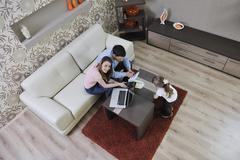 Family savings Stock Photos