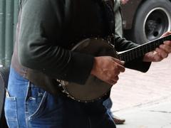 Banjo pelaaja Kuvituskuvat