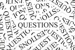 questions concept - stock photo