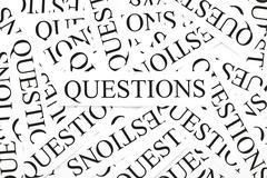 Questions concept Stock Photos