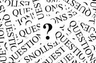 Stock Photo of questions concept