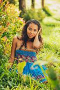 african american woman - stock photo