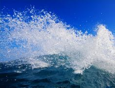 Wave splash Stock Photos