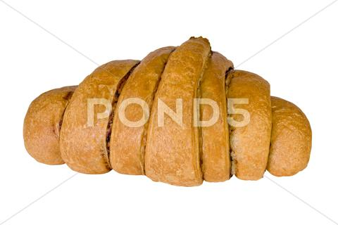 Stock photo of fresh tasty bun
