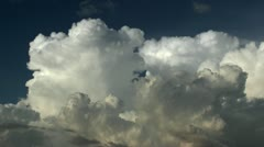 Monsoon Clouds Buildup Time Lapse Stock Footage