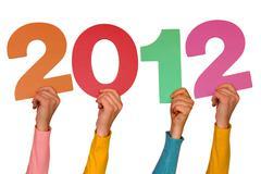 Stock Photo of year 2012