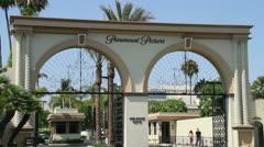 Paramount Studios Stock Footage