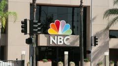 NBC Studios Burbank Stock Footage