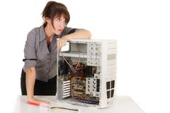 technology confusion - stock photo