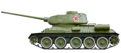 Russian tank t-34 from world war ii Stock Photos