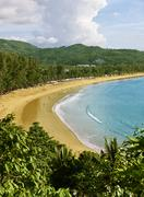 thailand, phuket, kamala beach - stock photo