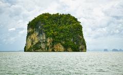 Island in the andaman sea - tropical landscape Stock Photos