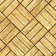 Parquet floor - seamless texture Stock Photos