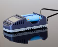 Aa battery charger Stock Photos