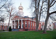 old courthouse in leesburg va - stock photo