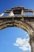 Hadrian's Arch, Athens, Greece - stock photo