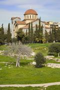 Church of Agia Triada in Athens, Greece Stock Photos
