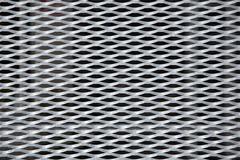 metallic grid backgorund - stock photo