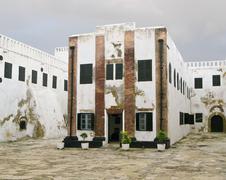 Elmina Fort in Ghana - stock photo