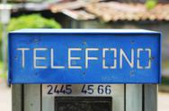 Stock Photo of Telefono
