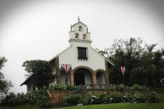 Mountain Church Stock Photos