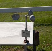 Wind measuring equipment Stock Photos