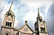 Stock Photo of Church Steeples - HDR