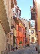 rivoli old town, italy - stock photo