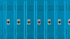 Lockers Stock Footage