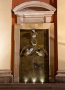 doors of jesuit church - stock photo
