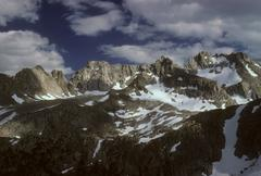 Palisades mountain range Stock Photos