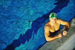 Stock Photo of swimmer