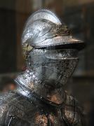 Detail, medieval tournament armor.. Stock Photos